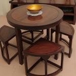 Ưu điểm của các mẫu bàn ghế ăn gỗ tự nhiên
