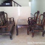 Thanh lý bàn ghế gỗ phòng khách đẹp, độc, rẻ