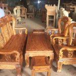 Bàn ghế gỗ hương vân một số điểm chú ý khi lựa chọn