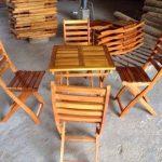Giá bàn ghế gỗ quán café hiện nay bao nhiêu?