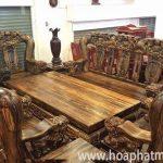 Những bộ bàn ghế gỗ đẹp nhất hiện nay