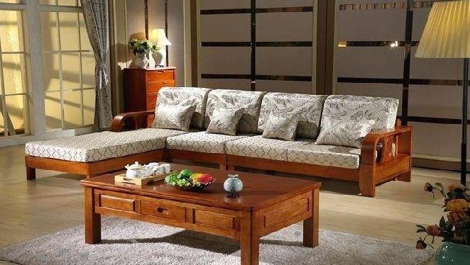 bàn ghế gỗ công nghiệp phòng khách