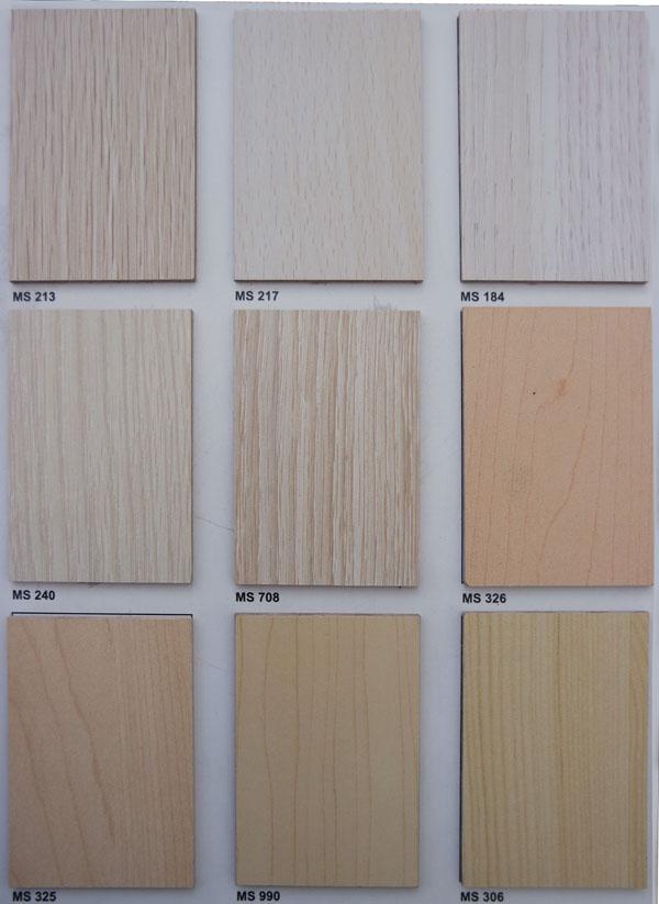 Bảng màu gỗ MFC 10