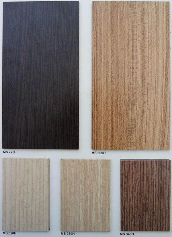 Bảng màu gỗ MFC 3
