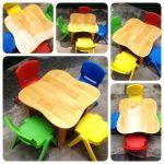 Kinh nghiệm vàng khi chọn bàn ghế cho trẻ em mẫu giáo