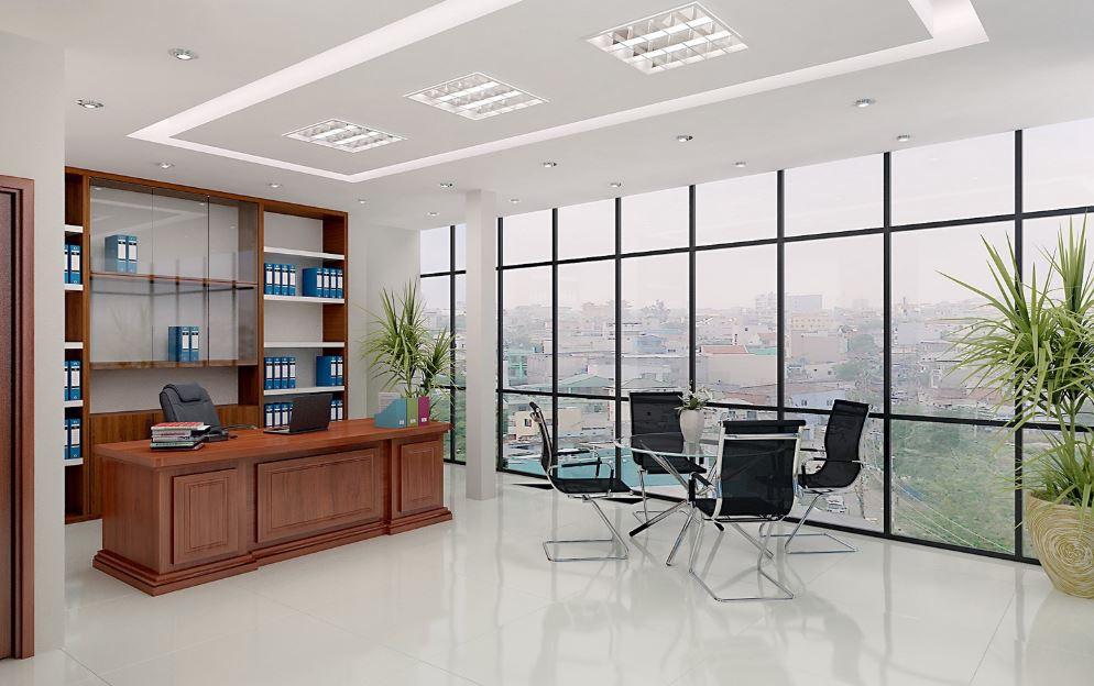 cách sắp xếp bàn ghế trong văn phòng