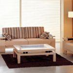 Cùng điểm qua những mẫu bàn ghế gỗ phòng khách đơn giản