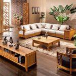 30+ bộ bàn ghế gỗ công nghiệp phòng khách đẹp nhất 2020