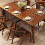 [Top] +20 các mẫu bàn ghế gỗ phòng ăn đẹp nhất hiện nay
