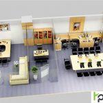 Thiết kế nội thất văn phòng công ty nhỏ