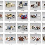 Bộ sưu tập các mẫu bàn làm việc giá rẻ Hòa Phát