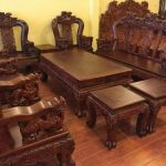 Bộ bàn ghế gỗ cẩm lai giá bao nhiêu?