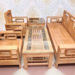 Có nên lựa chọn bàn ghế phòng khách gỗ sồi Nga?