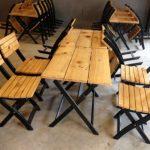 Mẹo mua sắm bàn ghế gỗ cafe giá rẻ