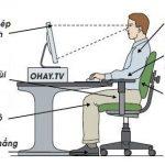Cách giảm đau lưng cho nhân viên văn phòng