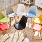 Mẫu bàn ghế cafe nhựa chân gỗ – Xu hướng mới trong thiết kế nội thất quán cafe