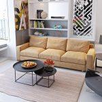 Mẫu bàn ghế sofa đẹp cho phòng khách