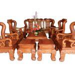 Bàn ghế Đồng Kỵ gỗ hương – Sự lựa chọn hoàn hảo cho phòng khách của bạn