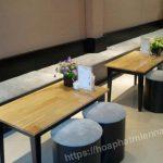 Mẫu bàn ghế quán cafe đẹp giá rẻ