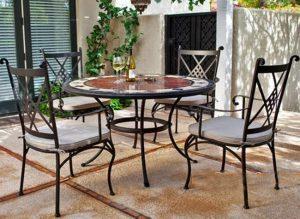 Mẫu bàn ghế sắt hộp hiện đại cho không gian phòng khách gia đình