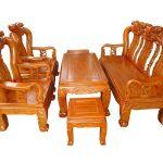 Kinh nghiệm chọn mua bộ bàn ghế gỗ phòng khách