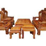 Chọn mua bộ bàn ghế phòng khách bằng gỗ tự nhiên đẹp nhất
