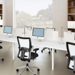 Mách bạn bí quyết thiết kế văn phòng nhỏ thành to