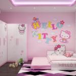Gợi ý thiết kế phòng ngủ siêu yêu cho bé gái