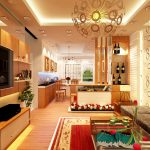 Gợi ý thiết kế phòng khách và bếp chung