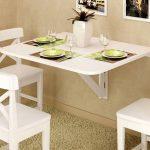 Những mẫu bàn ăn thông minh cho căn bếp thêm tiện nghi