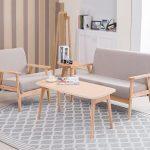 Mẫu sofa đơn giản cho phòng khách thanh lịch