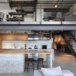Trang trí căn hộ phong cách Industrial