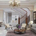 Gợi ý cách thiết kế phòng khách có cầu thang