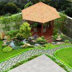 Ý tưởng thiết kế sân vườn cho nhà thêm xanh