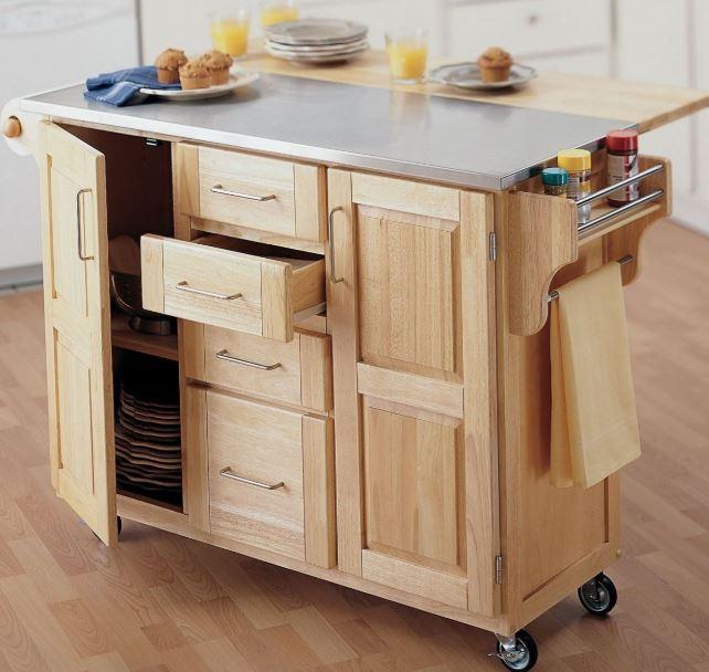 các mẫu tủ bếp mini