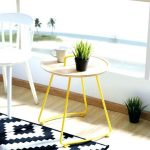 Trang trí bàn trà nhỏ cho phòng khách nhà phố