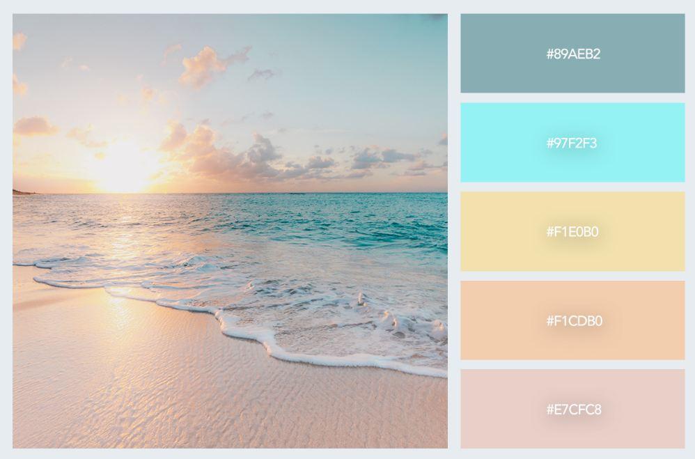 bảng màu pastel trong thiết kế nội thất 1