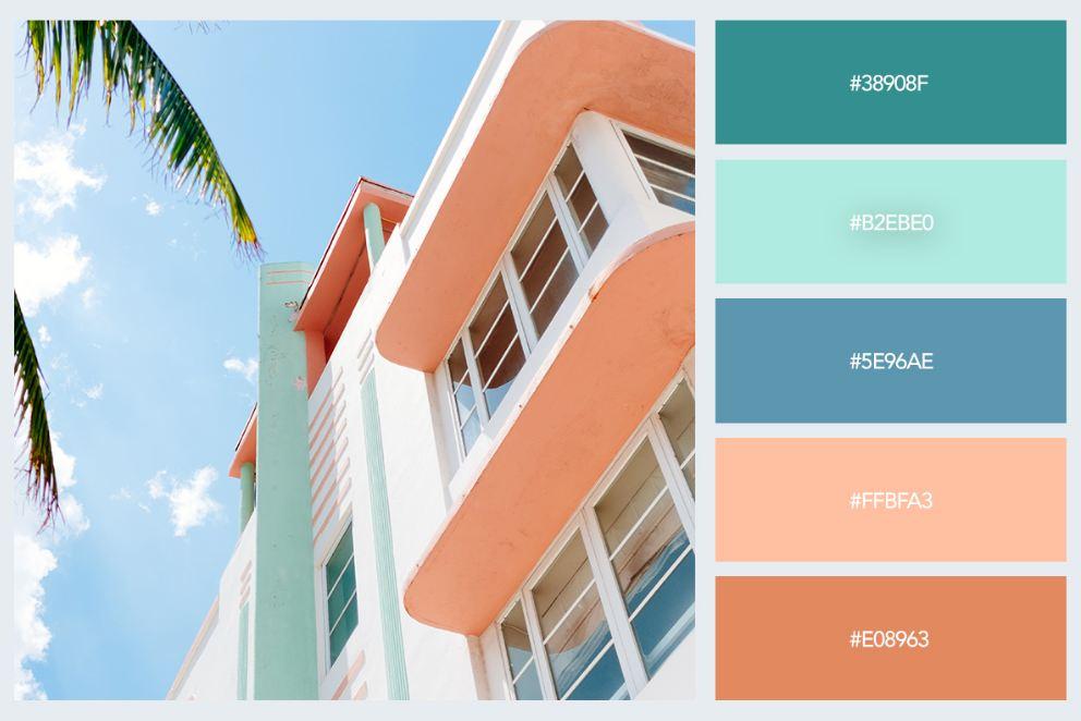 bảng màu pastel trong thiết kế nội thất 4