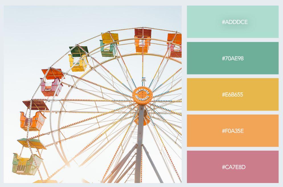 bảng màu pastel trong thiết kế nội thất 7