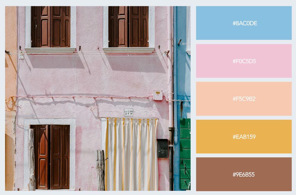 bảng màu pastel trong thiết kế nội thất 8