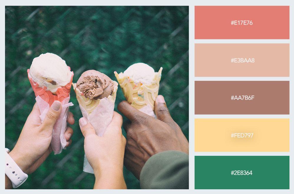 bảng màu pastel trong thiết kế nội thất 9