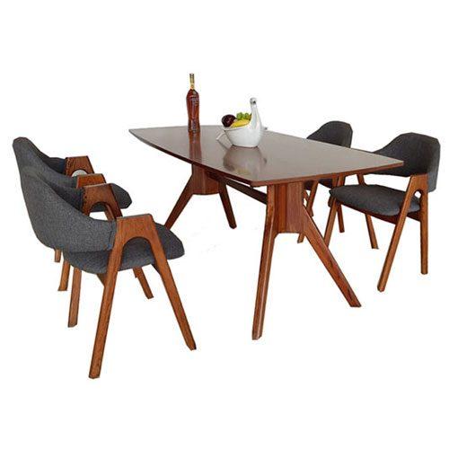 Bộ bàn ăn gỗ Hòa Phát HGB79A, HGG79