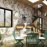 Gợi ý dùng đá trang trí nội thất cho không gian hiện đại