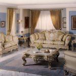 Mẫu phòng khách phong cách Baroque