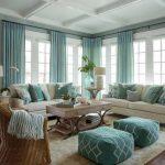 Thiết kế phòng khách phong cách coastal