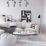 Ngắm nhìn mẫu phòng khách phong cách Scandinavian đẹp ấn tượng