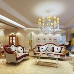 Những mẫu phòng khách phong cách Pháp đẹp hút hồn