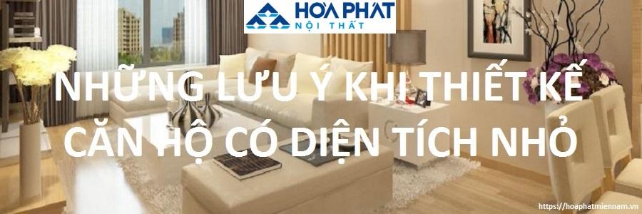 Thiết kế nội thất cho căn hộ có diện tích nhỏ