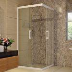 Chọn vách ngăn cho phòng tắm hiện đại
