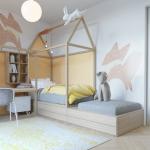 Ý tưởng trang trí phòng ngủ sáng tạo cho bé